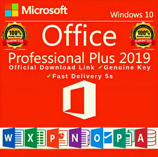 Microsoft Office 2019 Professional Plus Lifetime License Key ✔️ Fast delivery ✔️