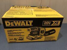 NEW DEWALT DCW200D1 XR 20V Brushless Cordless Sheet Sander KitW. Battery Bag