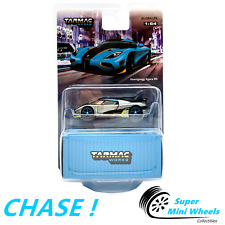 CHASE ! ! ! Tarmac Works 1/64 Koenigsegg Agera RS Torquise - Carbon Accent