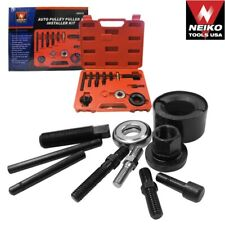 Auto Pulley Puller & Installer Kit Remove Alternator Parts Power Steering Pulley