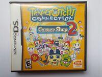Nintendo DS Tamagotchi Connection: Corner Shop 2 w/ Case & Manual Tested Works