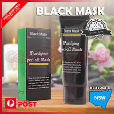 Face Mask Nose Blackhead Acne Pore Deep Remover Cleansing Strip Black Mud AUS