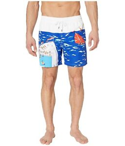 """POLO Ralph Lauren Traveler Cruise Ship Swim Trunks 5.5"""" Shorts Men's Sz S *NEW*"""