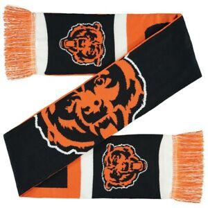Chicago Bears Reversible Colorblock Scarf Knit Neck Winter Neck NEW - Split Logo