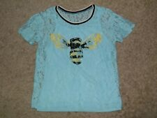 JUSTICE Layered Bumble Bee Top Size 14
