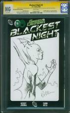 Green Lantern Blackest Night CGC SS Doug Mahnke Original art Sketch 2018 Film