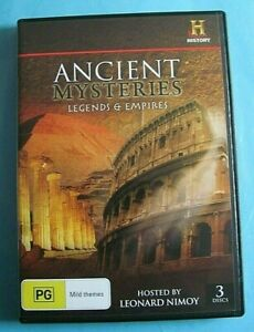 ANCIENT MYSTERIES Legends & Empires DVD Rome Atlantis Incas etc Reg 4  see below