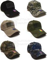 USA American Flag hat Tactical Operator Fashion Baseball cap Self Strap