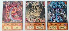 YuGiOh Orica/Anime Style Götterkarten Uria,Hamon,Raviel
