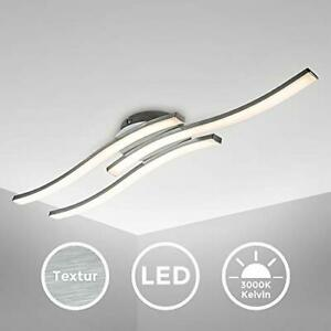 Plafoniera LED, luce calda 3000K, LED integrati 3x6W 3x480Lm, dimensione...