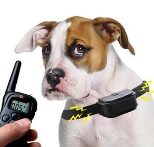 Pet Trainer Dog Training Shock Collar with Remote Rechargeable 500ft