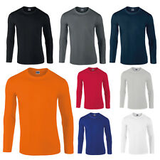 GILDAN SOFTSTYLE® LONG SLEEVE T-SHIRT TEE T SHIRT S-XXL GD11