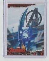 Avengers Age of Ultron Silver Parallel Trading Card  #23