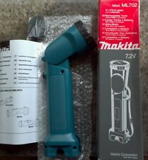 Makita torch ML702 7.2v BODY ONLY.   accepts battery 7000 7002 and 7033