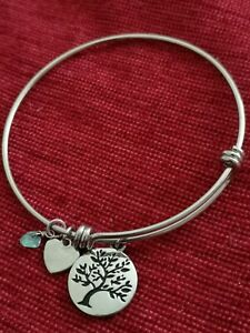 Lovely Silver Plated Tree of Life Bracelet