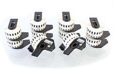 10x Rouleau Etiquettes Premium 29mm x 15,24m pour Brother DK-22211