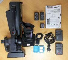 Professional HD shoulder mount Panasonic camcorder bundle - HMC80 with EXTRAS