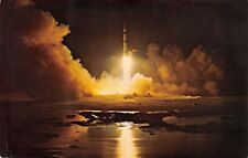 John F Kennedy Space Center~Nasa~Florida~Apoll o 17 Lift Off~1972~1973 Postcard