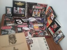 Lot of Dale Earnhardt Sr. Intimidator Memorabilia 7 Magazines 2 Books 3 Calendar