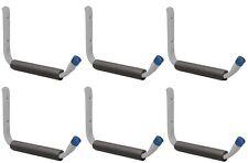 """(6) ea Crawford HGSH 12"""" Jumbo Arm Ladder / Tool / Garage Storage Hooks"""
