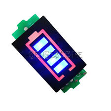 4S Lithium Battery Capacity Indicator Module 16.8V Blue Display Power Tester