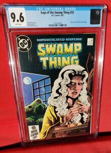 SAGA OF THE SWAMP THING #33 CGC 9.6 (FEB 1985) DC.