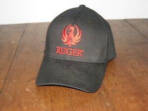 Ruger Firearms Hat Cap Black