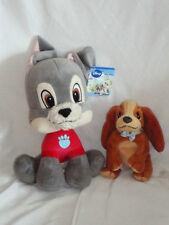 Lady and the Tramp Soft Plush toy Bundle. Disney Dog