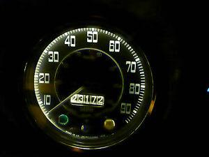 Triumph TR250 GT6 Herald Vitesse Dash Instrument Warm White LED Bulb Upgrade x2