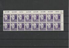 DDR FRÜHAUSGABEN 1953 Eckrandbogenteil Köpfe Mi. Nr. 328 postfrisch