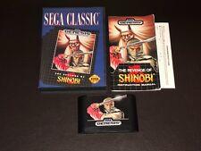 The Revenge of Shinobi Sega Genesis Complete CIB Authentic