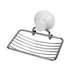 Evelyne Stainless Steel Soap Wire Rack with Suction Cup for Bathroom Shower