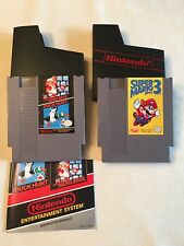 Super Mario Bros. 1, 3 & Duck Hunt for NES Tested & Works Brothers