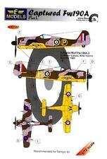 LF Models Decals 1/72 CAPTURED FOCKE WULF Fw-190A Part 1