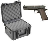 SKB Waterproof Plastic Gun Case Colt 1911 Semi Auto .45 Acp Handgun Pistol New