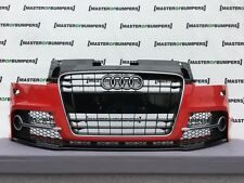 AUDI TT S LINE TTS 2006-2015 FRONT BUMPER COMPLETE IN RED GENUINE [A420]