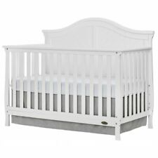 Dream On Me Kaylin 5 in 1 Convertible Crib in White