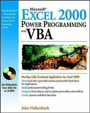 Microsoft� Excel 2000 Power Programming with VBA