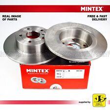 2X MINTEX REAR DISC BRAKES MDC985 FOR LAND ROVER DISCOVERY II RANGE ROVER II III