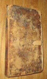 1816 Antique Book The Naval Monument by Bowen - pub. in Boston - leather