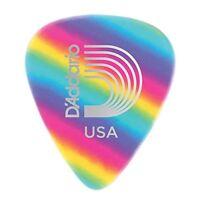 Planet Waves Rainbow Celluloid Guitar Picks 10 pack, Light