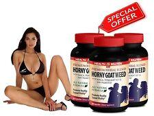 PREMIUM HORNY GOAT WEED SEXUAL VITALITY - Mens Extract - Premium Herbal Blend 3B