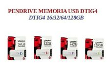 GDTI.- Pendrive memoria USB 3.0 Kingston DTIG4 16/32/64/128GB Unidad Flash Drive