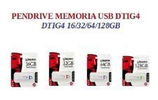 GDTI  Pendrive memoria USB 3.0 Kingston DTIG4 16/32/64/128GB Unidad Flash Drive