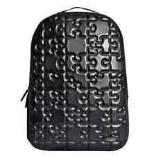 URBAN JUNK UJ Classic Backpack Puzzle Black School Bag 23175 **FREE HARIBO