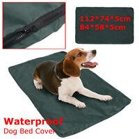 M/L Dog Pet Mattress Bed Heavyduty Waterproof Washable Cover Cat Mat Pad Cushion
