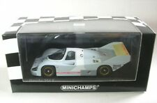 1 43 Minichamps Porsche 956k Weissach Roll Out 1982