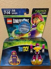 LEGO DIMENSIONS FUN PACK TEEN TITANS GO! STARFIRE AND TITAN ROBOT 56PCS.