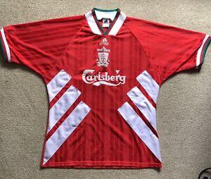 Liverpool fc Retro Adidas shirt 1993-1995 Home shirt in good condition.
