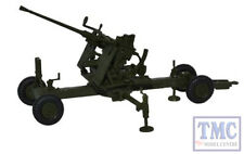 76BF002 Oxford Diecast 1:76 Scale OO Gauge Olive Drab 40MM Bofors Gun